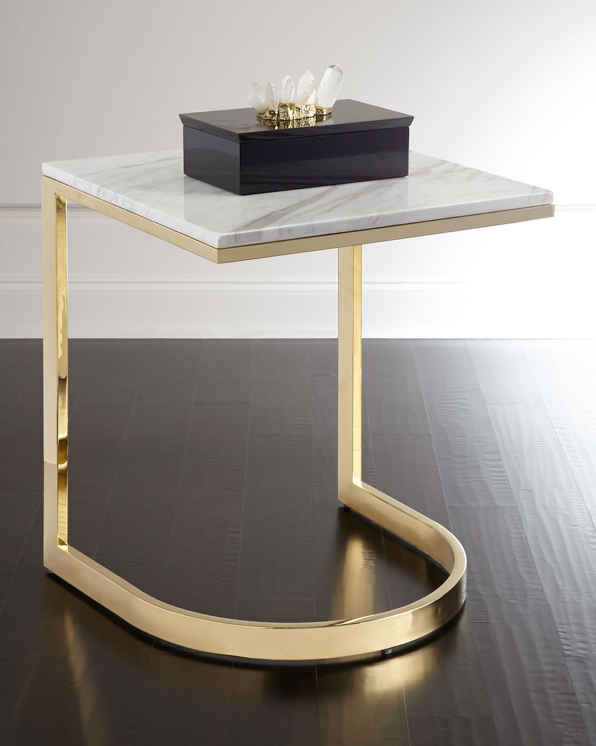 Bernhardt Marquis Marble End Table Marble End Tables Marble