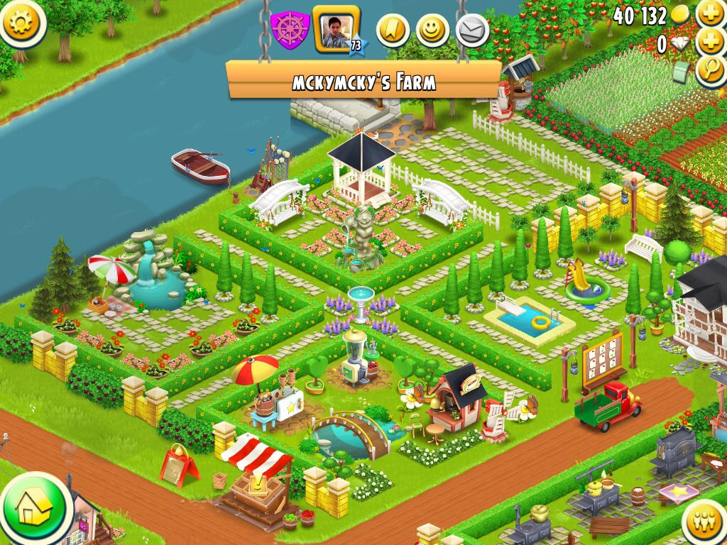 Four Square Hay Day Farms Hay Day Hayday Farm Design