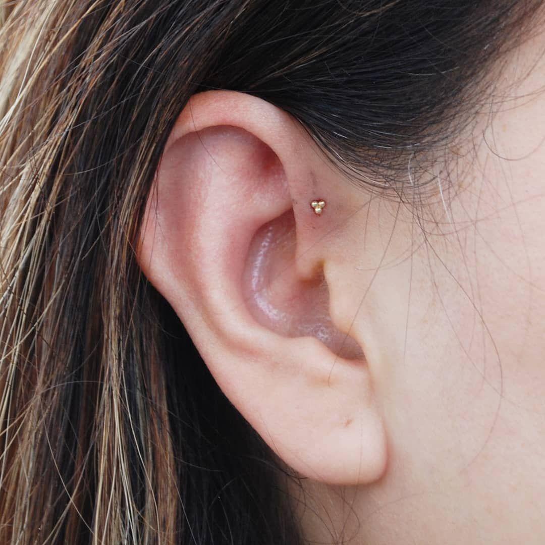 Forward Helix Forward Helix Piercing Cute Ear Piercings Forward Helix