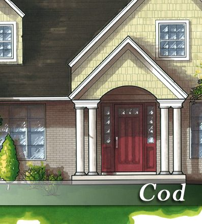 Front Porch Plan - Cod : Renovation Design Group | portico ...
