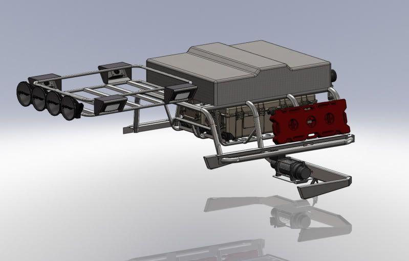 Expedition Bed Rack Build Ttora Forum Truck Cargo Rack
