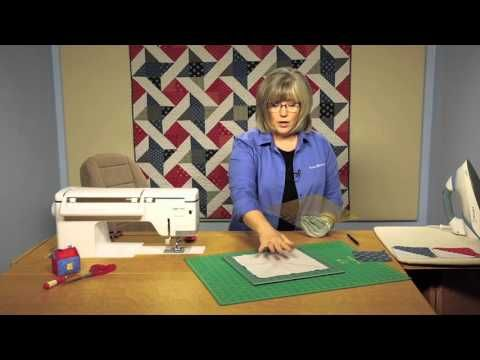 Quilting Quickly: Friends & Heroes - Patriotic Quilt - YouTube
