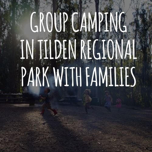 #Berkeley- Group Camping in the East Bay at Tilden Regional Park With Families (Right behind Little Farm!). {Sunshine Kids Blog Hop}