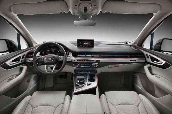 Audi Q7 2017 Interior
