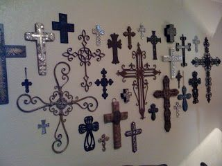 Collect different crosses to make a cross wall | Wish List ...