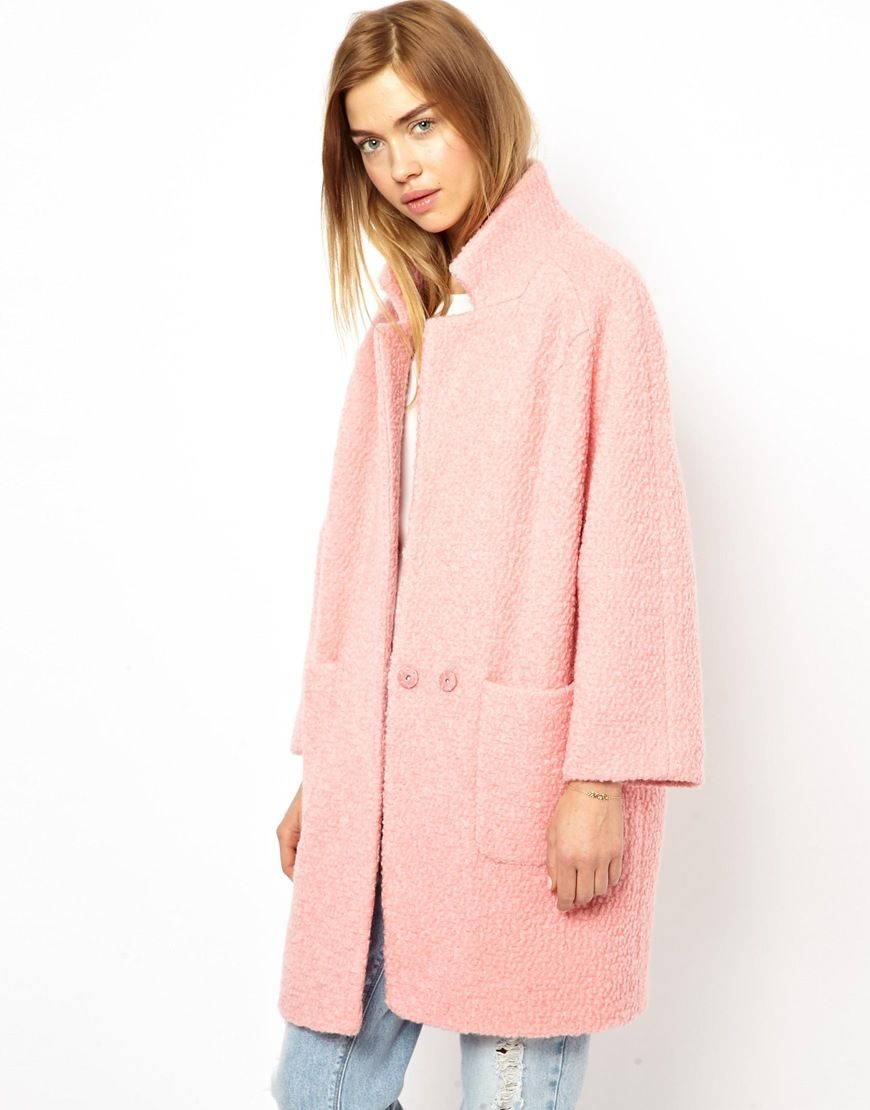 Pink Perfection. Great spring coat for when it is still a little ...