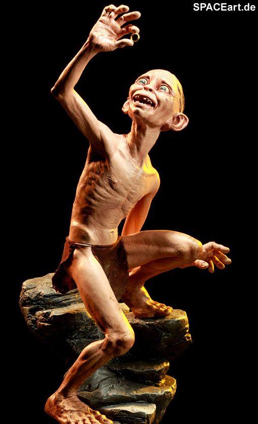 Herr der Ringe: Gollum - Smeagol, Statue ... http://spaceart.de/produkte/hdr027.php