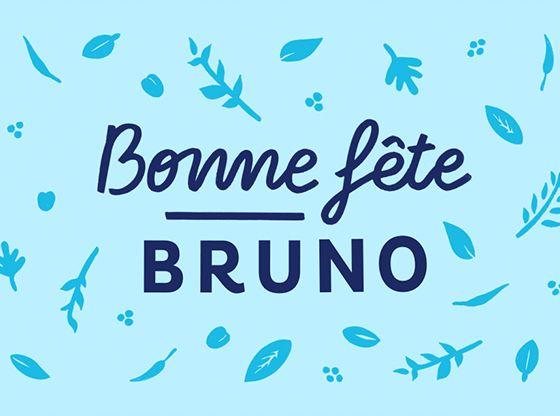 voyance gratuite carte prénom 6 octobre : bonne fête Bruno (avec images)   Bonne fête, Carte