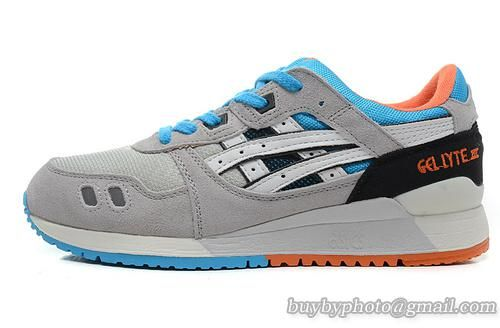 Men's Asics Gel Lyte III Sneaker Gray Blue|only US$95.00 - follow me to pick up couopons.