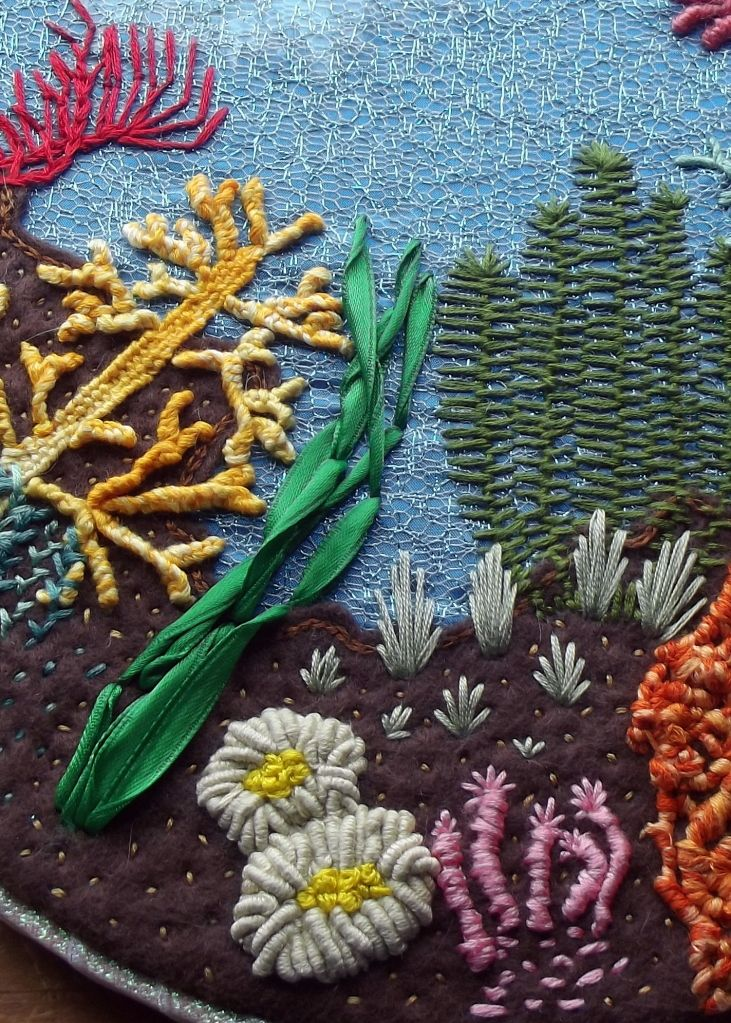 Undersea Hoopla This Is Beautiful Love The Theme Embroidery