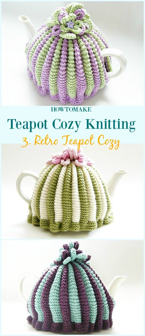 Teapot Cozy Free Knitting Patterns | Pimp your kitchen | Pinterest ...