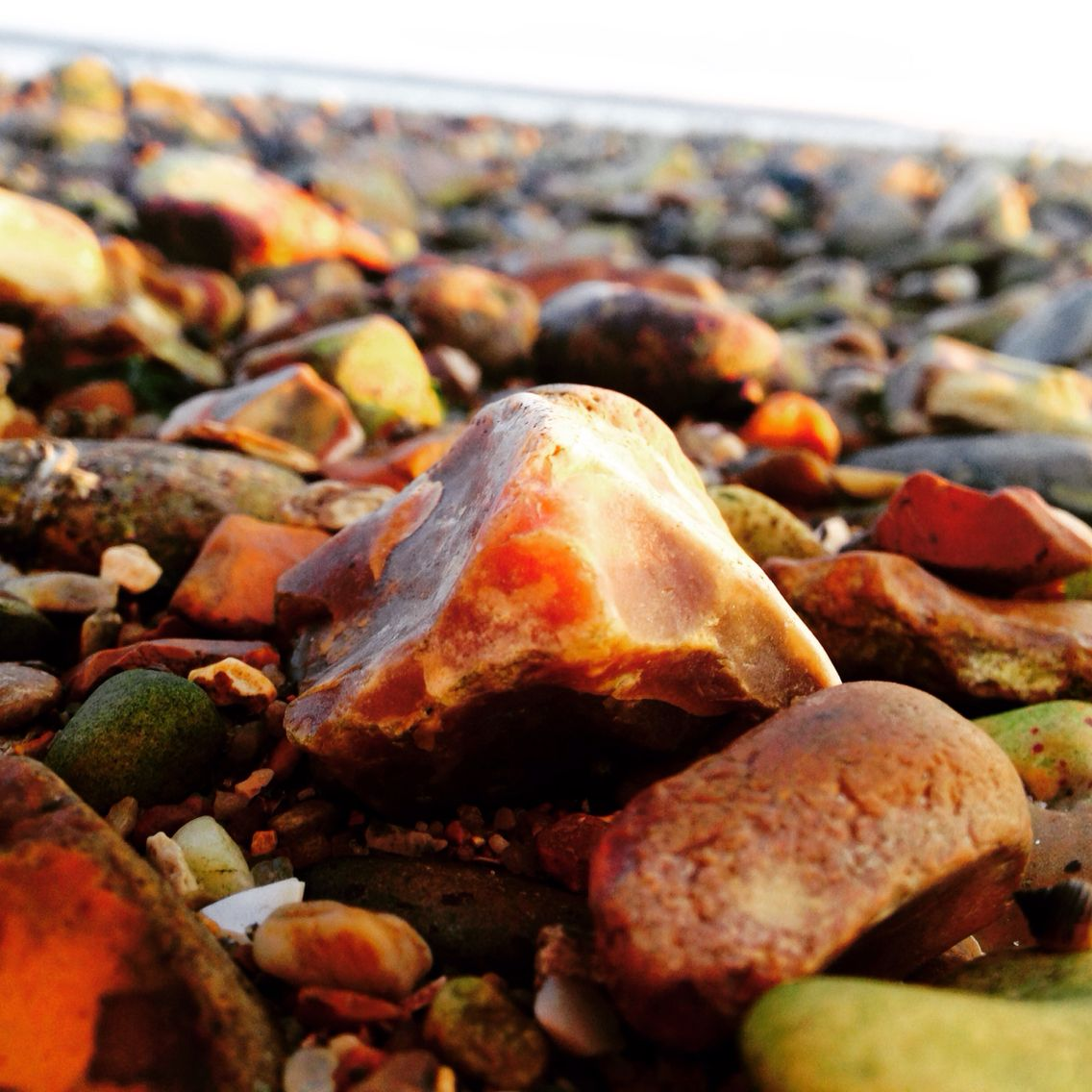 Gotta love a stone beach so I had to get a close up