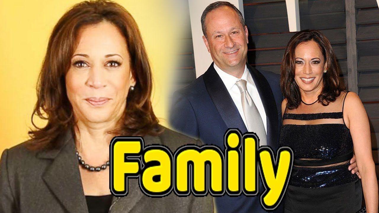 Kamala Harris Family Photos With Husband Douglas Emhoff 2019 Hollywood Celebrities Bollywood Celebrities Actors Actresses
