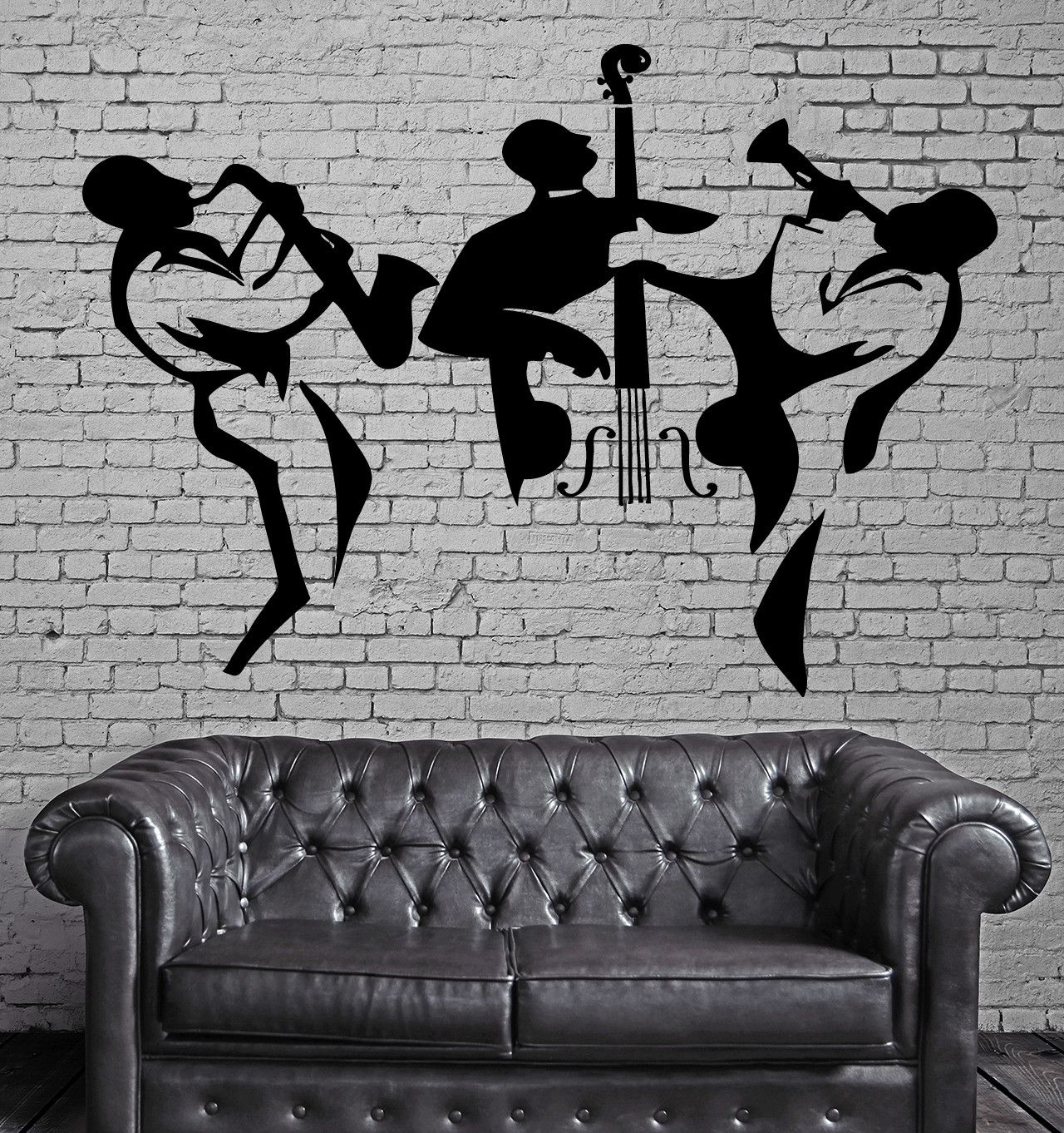Music Vinyl Decal Classical Orchestra Cello Instruments Wall