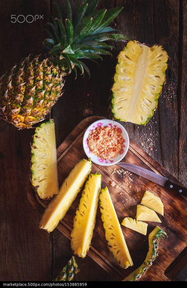 PineApple Slices... - stock photo