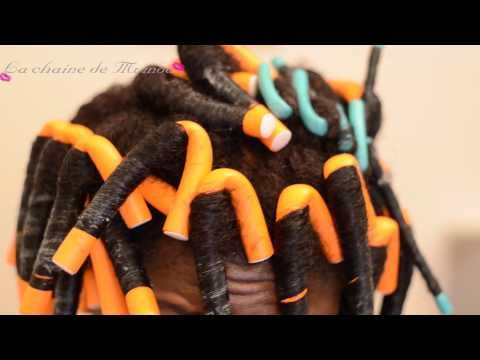 Master those Rollers on Natural hair and achieve a beautiful curly AFro