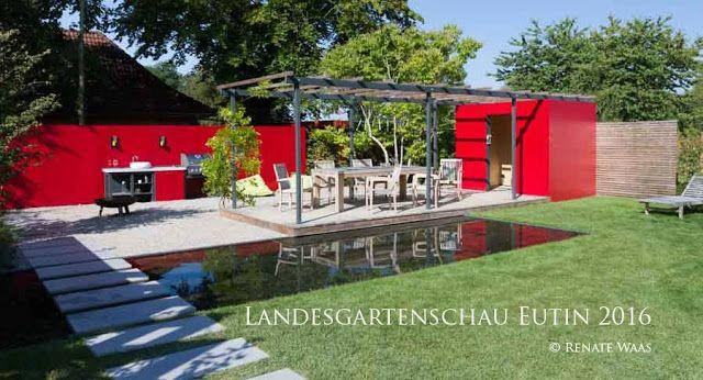 Sichtschutz - moderner Garten - Outdoor-Living Ein moderner Garten - sichtschutz im garten modern