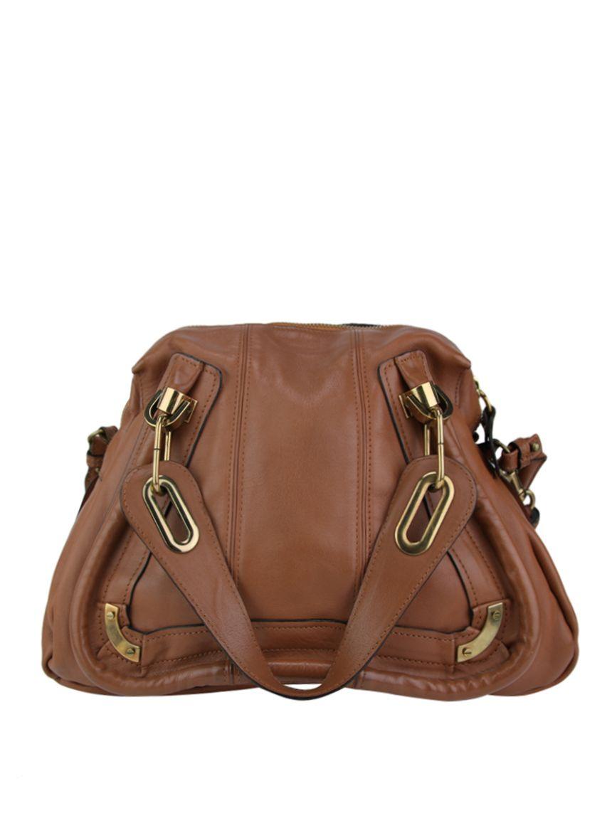 20aed6651 Bolsa Chloé The Paraty Bag Caramelo Original confeccionada em couro  caramelo. Possui alça de mão