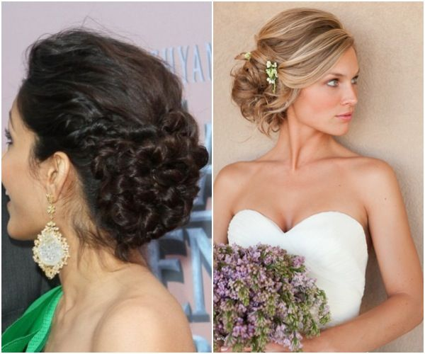 Get Ready For Your Close Up With Chic And Stylish Wedding Updos
