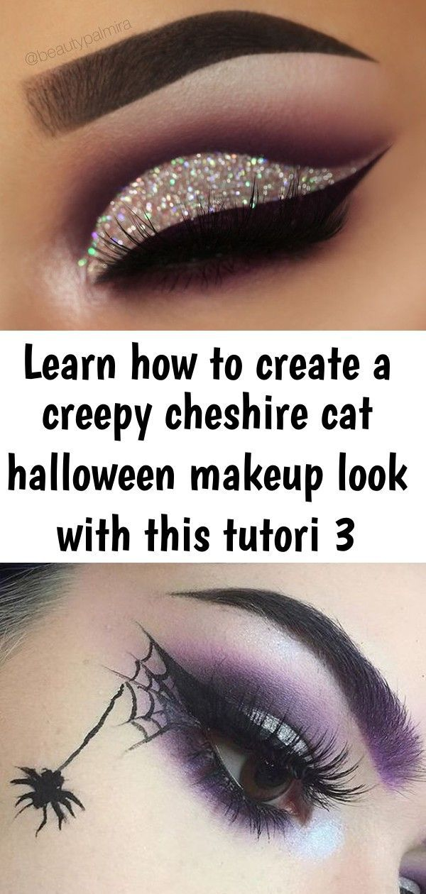 Dark purple glitter cutcrease makeup with liquid lipstick eyeliner Lime Crime Ve... -