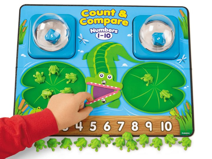 LakeshoreLearning.com - Count and Compare Frog Game