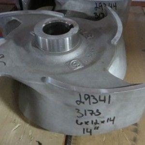 Goulds pump model 3175 Impeller , size 14″