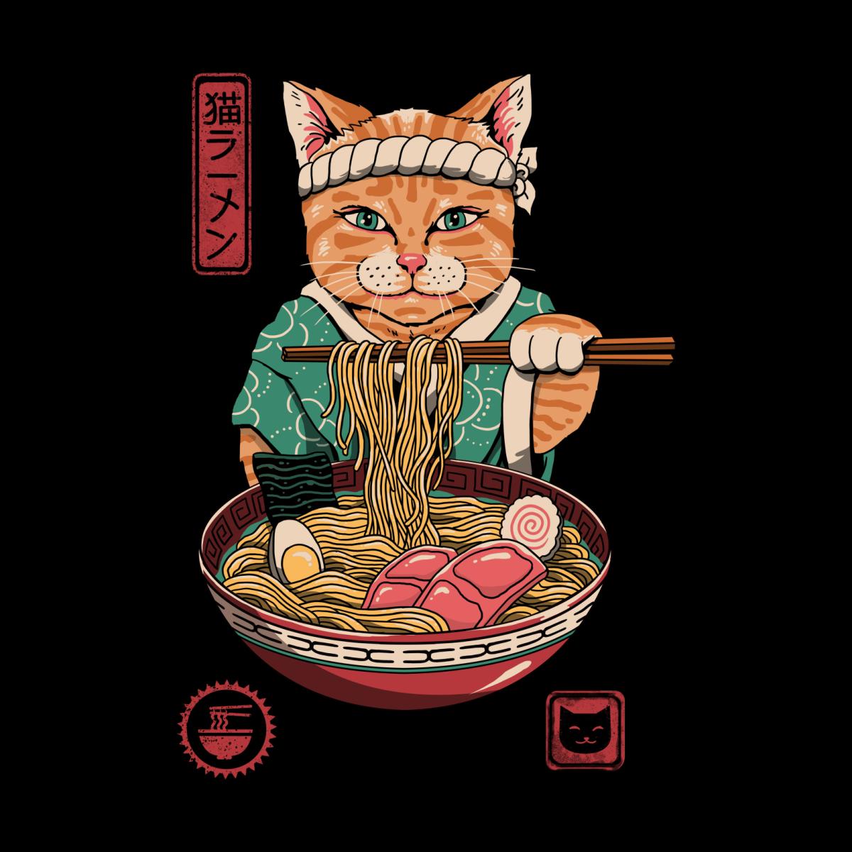Neko Ramen Vincent Trinidad Art in 2020 Japanese pop