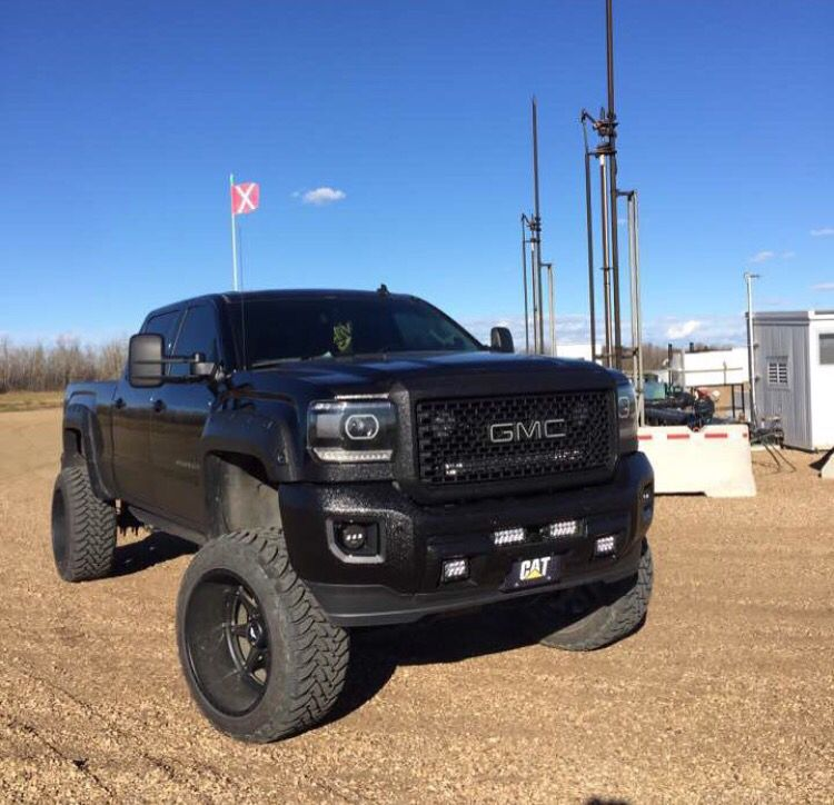 Pin By Elaine Sosa On Beauties Jacked Up Trucks Lifted Trucks Gmc Trucks