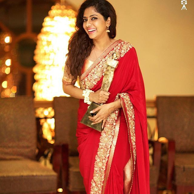 Image Result For Poornima Indrajith Saree