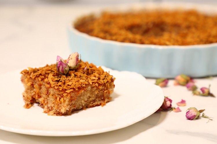 بسبوسة التمر السهلة بالفيديو مطبخ سيدتي Recipe Desserts Food Banana Bread