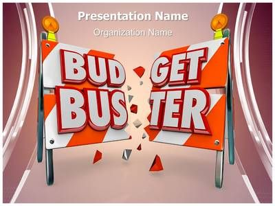 Financial Budget Buster Powerpoint Template Is One Of The Best