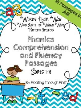 WTW Phonics Comprehension and Fluency Passages--Within Word Pattern