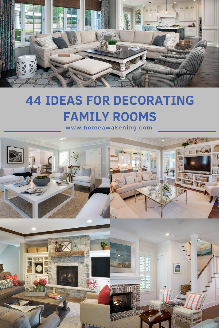 44 Wonderful Family Room Decorations Home Layout Design Family