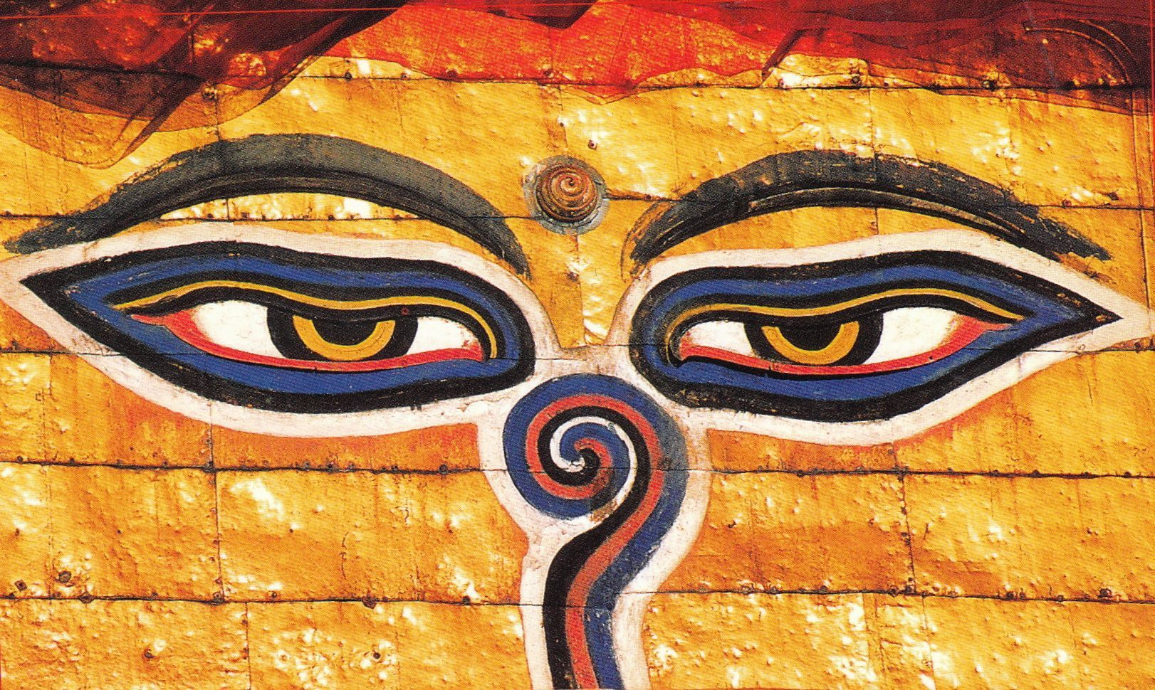 Kathmandu, All-Knowing Eyes