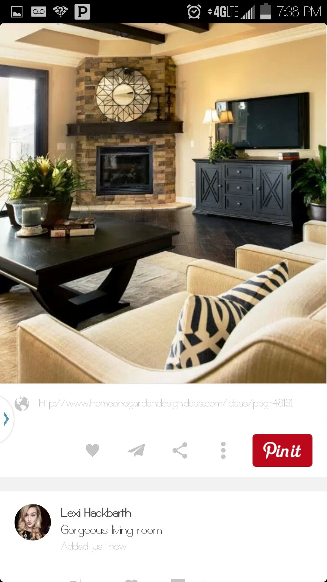 Pin by Andrea Zimmermann on ambientes Pinterest Living rooms