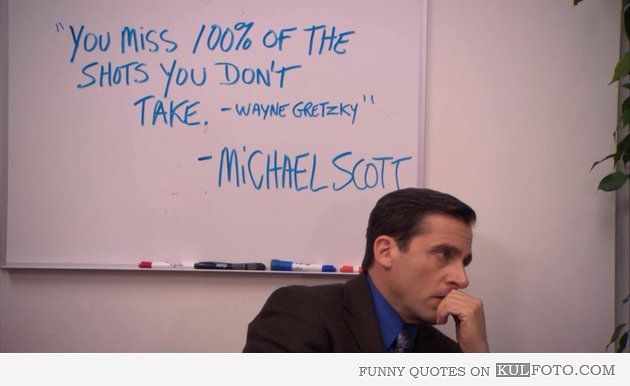 The Office Quotes The Office Quotes Wayne Gretzky By Michael Stunning Michael Scott Wayne Gretzky Quote