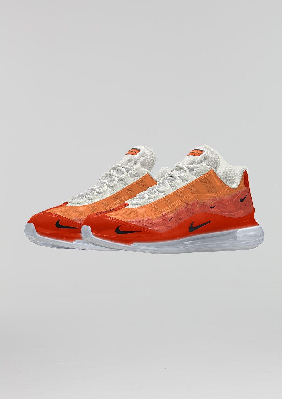 Nike Sb Blazer Zoom Mid Xt Circuit Orange Sneakers Nike Nike Tenis Nike