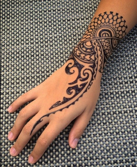Mehndi Henna Tribal Hand Tattoos Maori Tattoo Polynesian Tattoo