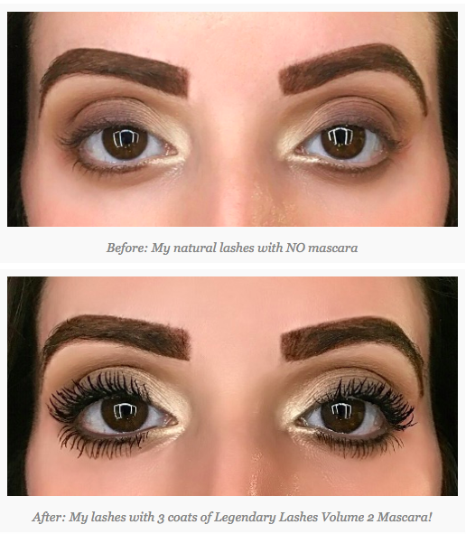 126e06709e9 Charlotte Tilbury Legendary Lashes Volume 2 Mascara Before and After on  @christinesmakeupedit