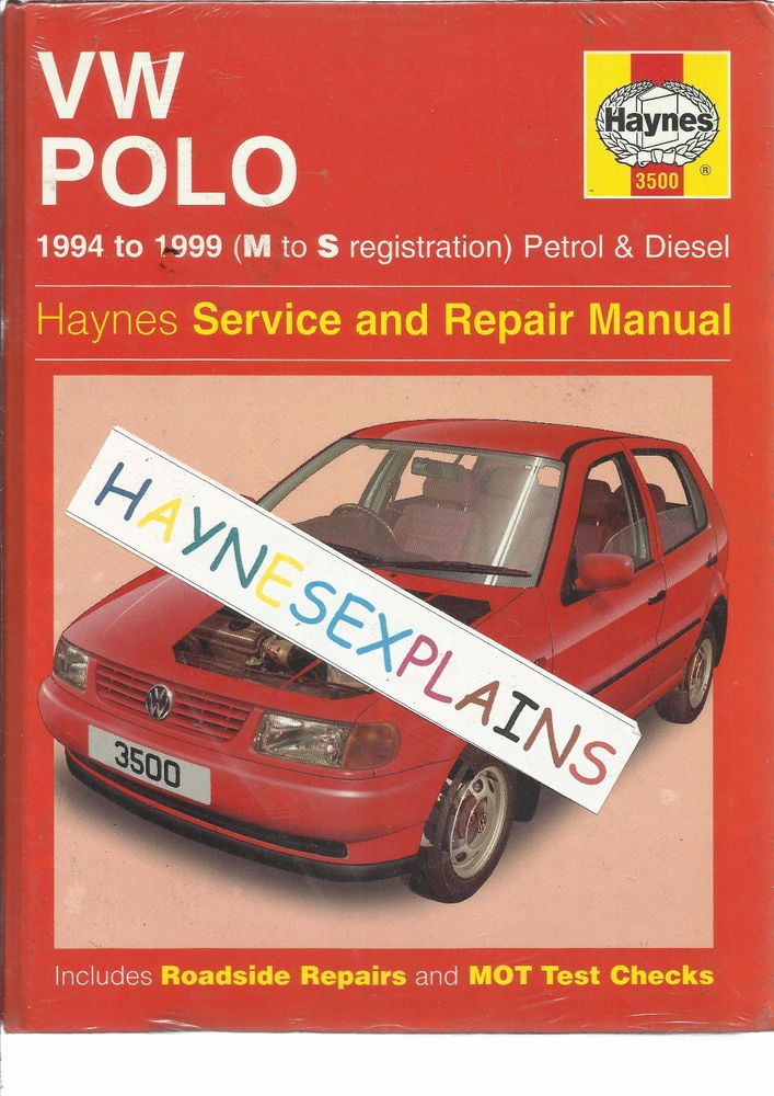 new sealed haynes volkswagen vw polo hardback service repair rh pinterest co uk vw polo car owners manual VW Polo 2010