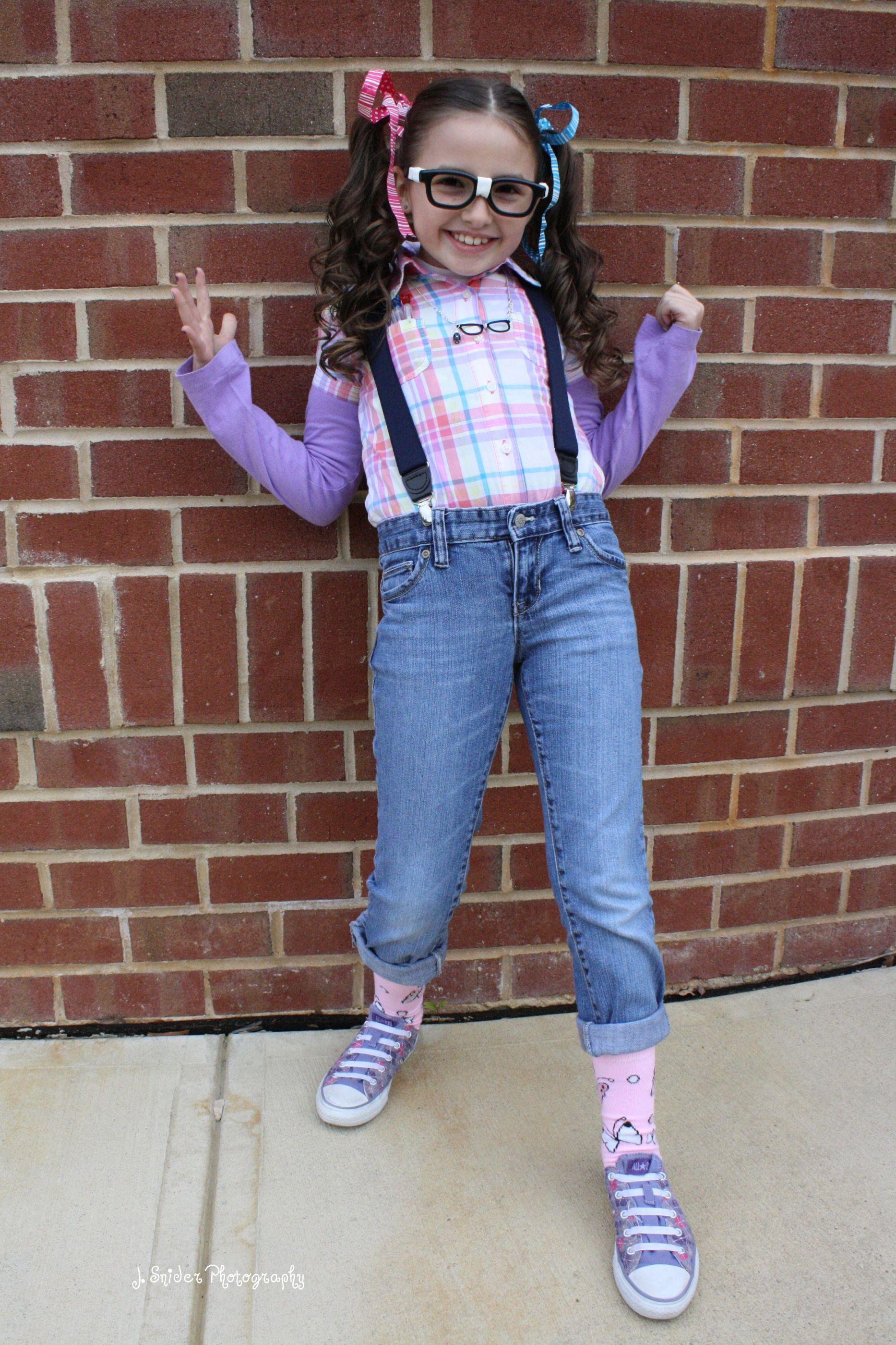 Girl Nerd Halloween Costume Ideas