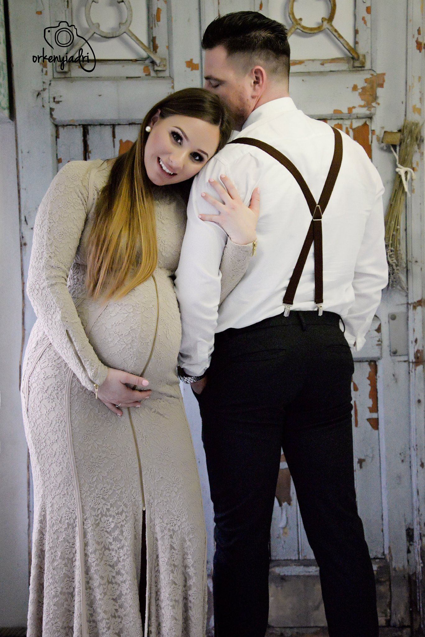 couple photography maternity pregnancy elegance french style stylist costume studio mother father wife husband marriage