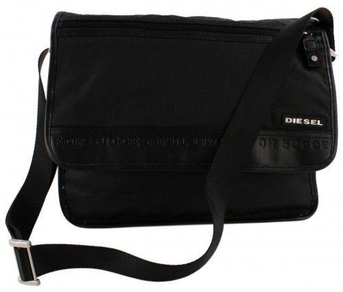 Diesel Men's Bags CITY MESSENGER - Across body bag - dunkelbraun