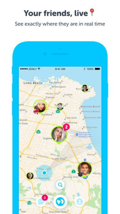 Zenly iPhone app for keeping track of your family and