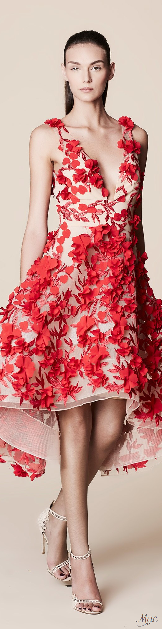 Spring 2017 Ready-to-Wear Marchesa Notte | Like a Queen | Pinterest ...