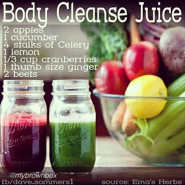 Body Cleanse Juice (want to try)