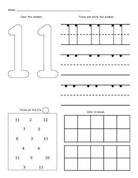 19++ 11 worksheets Live