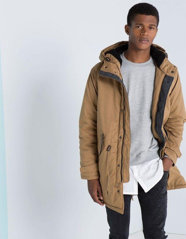 Bershka Erkek Kaban Modelleri Medyamodacom Bomber Jacket Coat