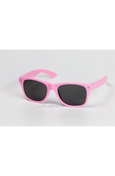 Gafas de Sol Moda Fashion Rosa. Gafas wayfarer color rosa para fiestas, carnaval, cumpleaños, photocall, bodas.