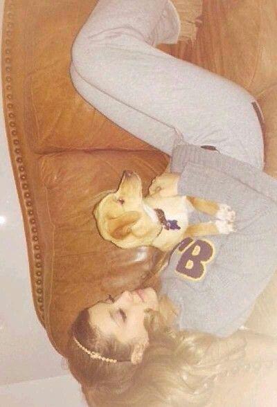 Aww Ari's with the puppy :) - Frankie